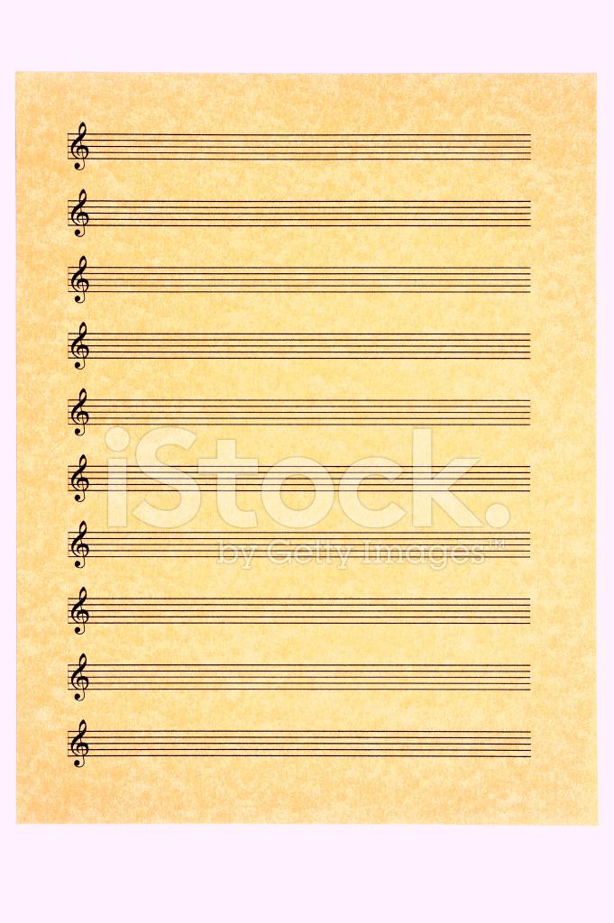 blank treble clef