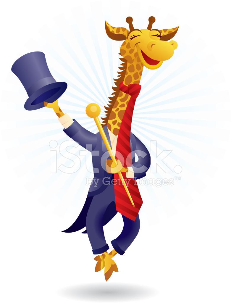 Circus Giraffe Stock Vector Freeimages Com