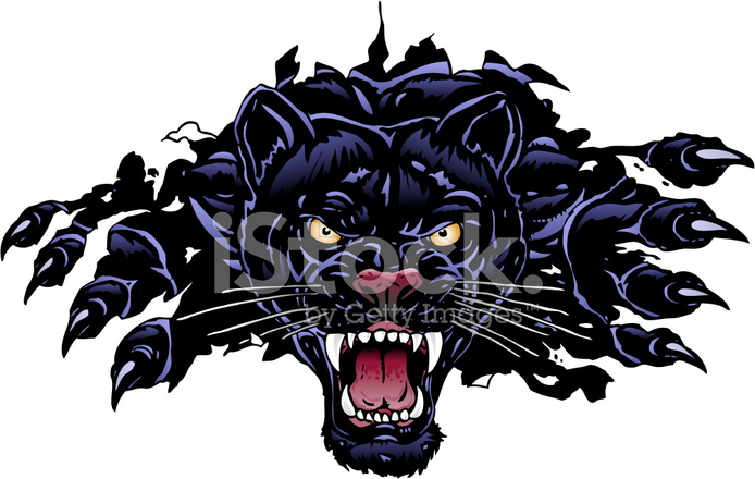 Panther Rip Stock Vector Freeimages Com
