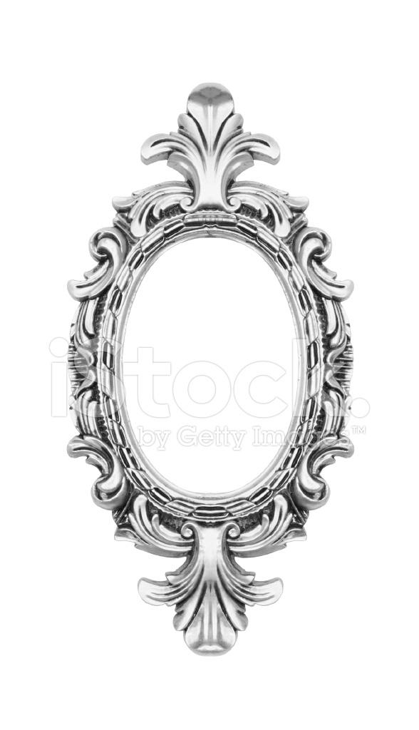 Antique oval frame ornate Oval Shape Silver Vintage Ornate Oval Frame Freeimagescom Silver Vintage Ornate Oval Frame Stock Photos Freeimagescom