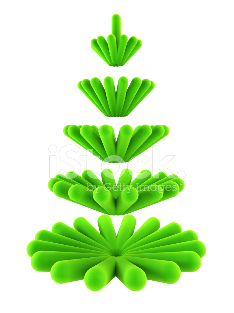 3d Symbolic New Years Fir Tree Stock Photos Freeimages