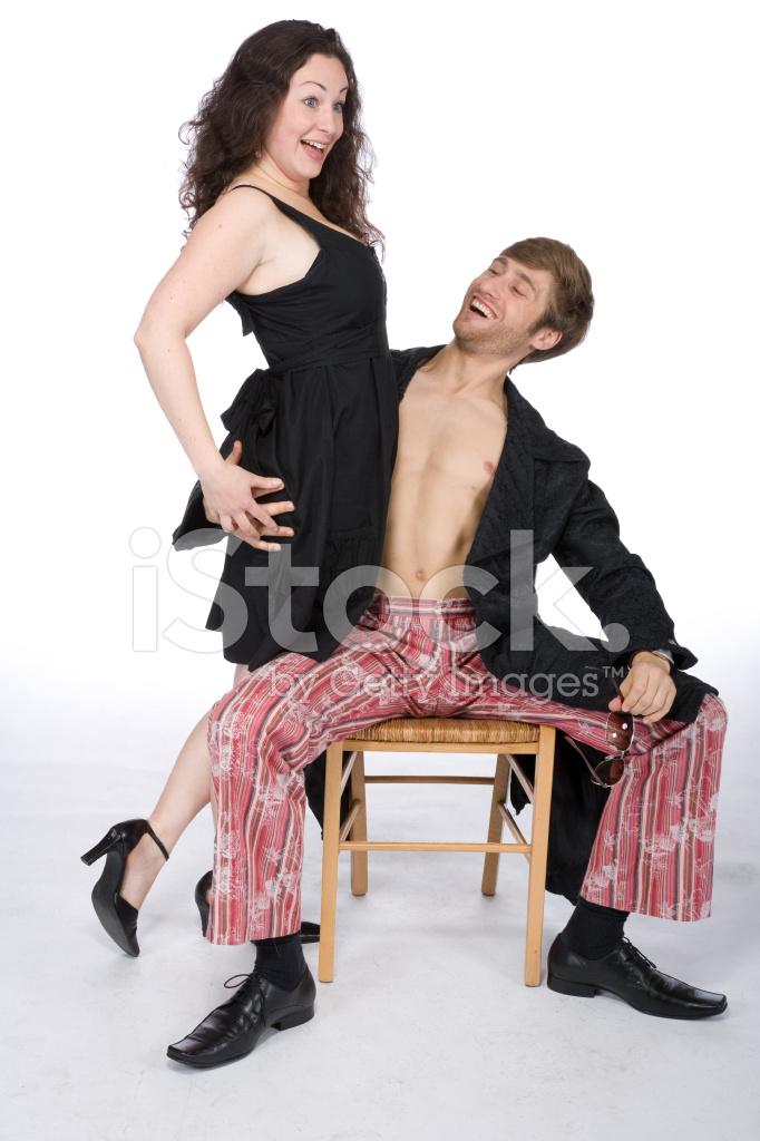 Weird Couple Stock Photos 1