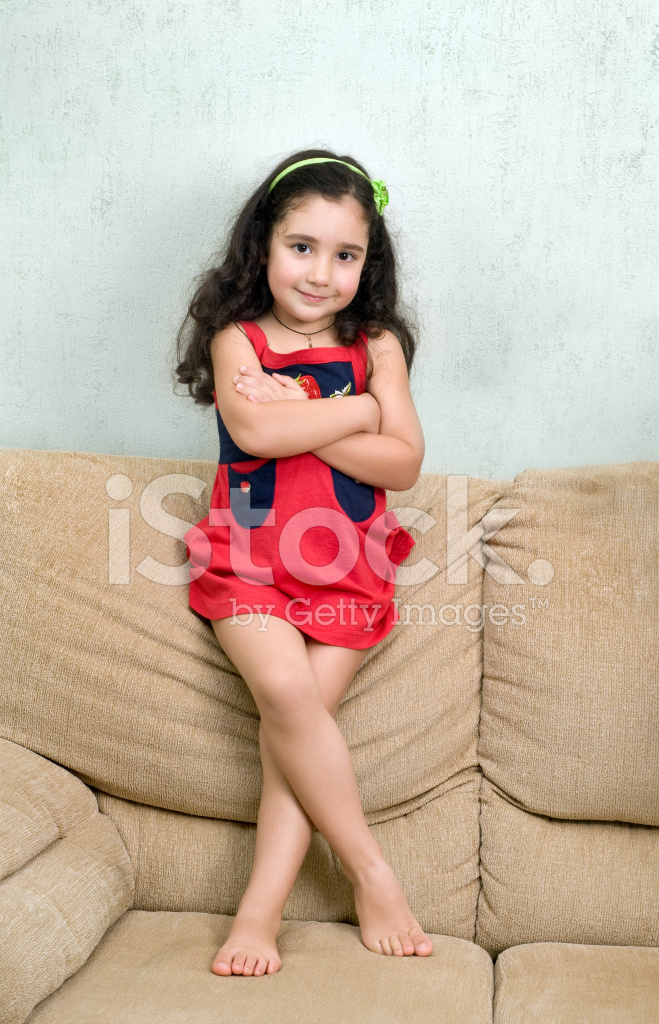 Little Girl And Folded Arms Stock Photos Freeimages Com