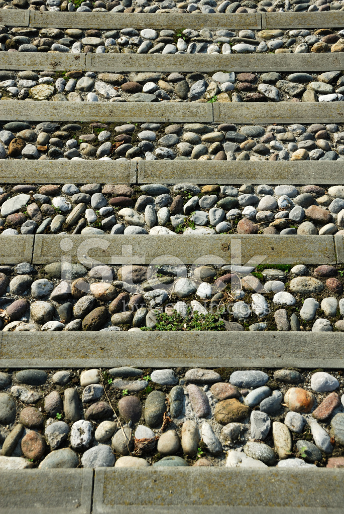 Pebble Stone Stair