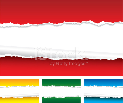 Torn Paper Background Stock Vector - FreeImages.com