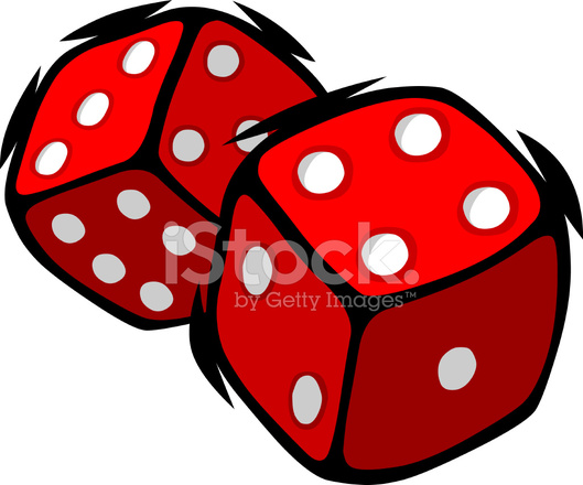 7594400 cartoon dice