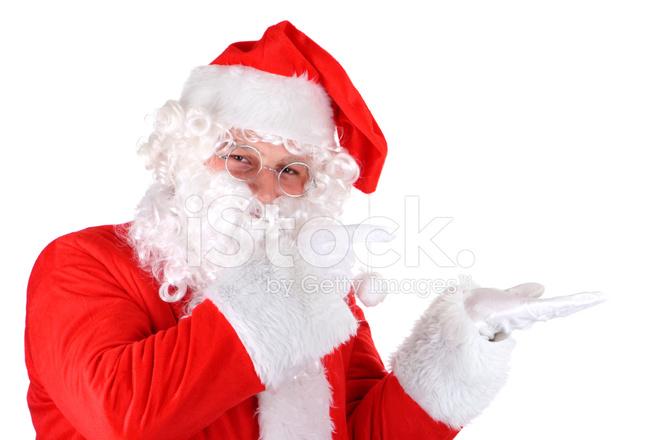 Sfondi Babbo Natale.Babbo Natale Su Sfondo Bianco Fotografie Stock Freeimages Com