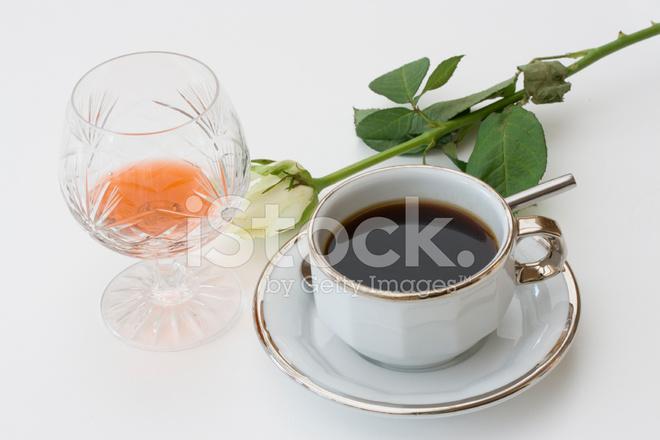brandy in coffee