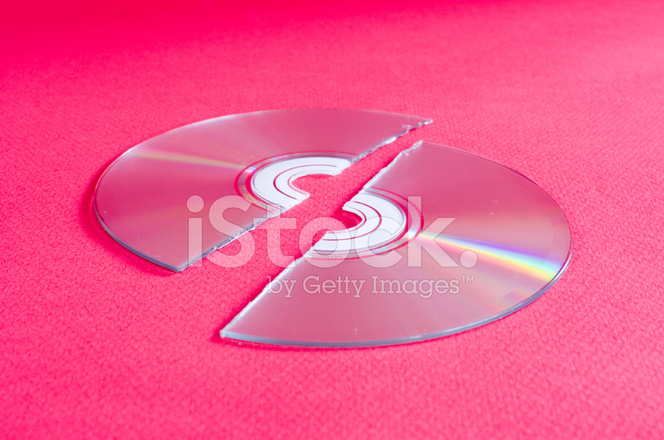 Broken Cddvd Backup Data Lost Stock Photos Freeimages