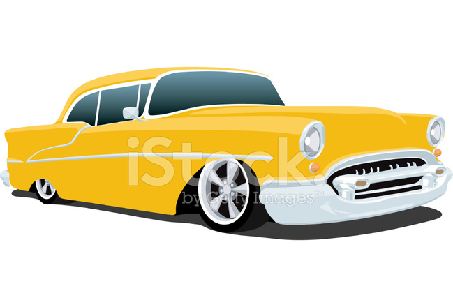Classic 1955 Chevrolet Bel Air Stock Vector Freeimages