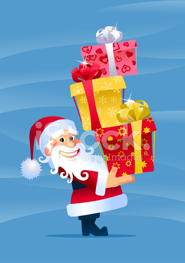 圣诞老人帽 圣诞礼物 卡通 雪 乐趣 礼品盒 问候语 心的形状 包装用纸