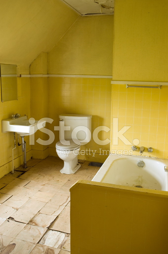 Grungy Gele Badkamer Stockfoto\'s - FreeImages.com