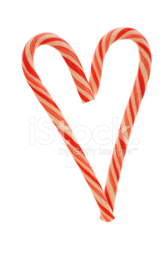 Candy cane heart stock photos freeimages