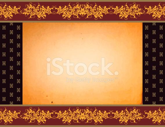 Sfondo Del Bordo Di Scorrimento Stock Vector Freeimagescom