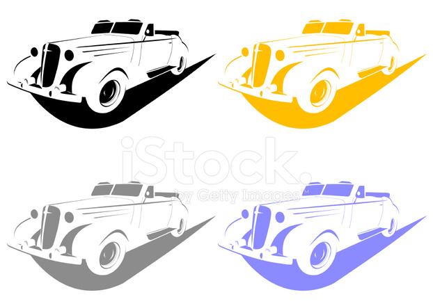 Schablone Auto Stock Vector - FreeImages.com