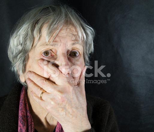 Very Frightened Elderly Stock Photos - FreeImages.com