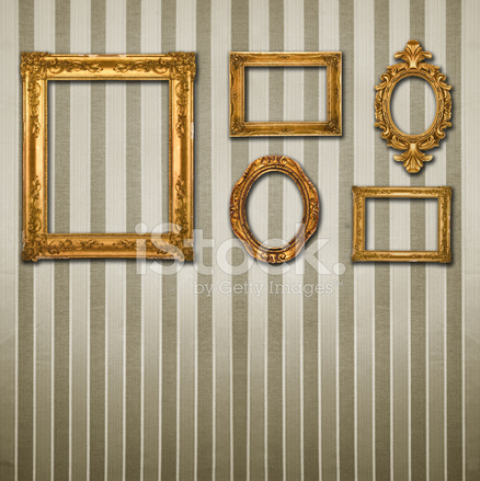 Gold Frames Arrangement Stock Photos - FreeImages.com