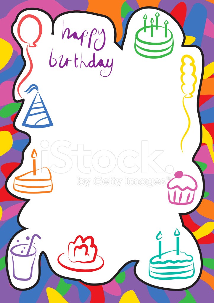 bordure anniversaire stock vector freeimages com clip art baseball borders clip art baseball bat