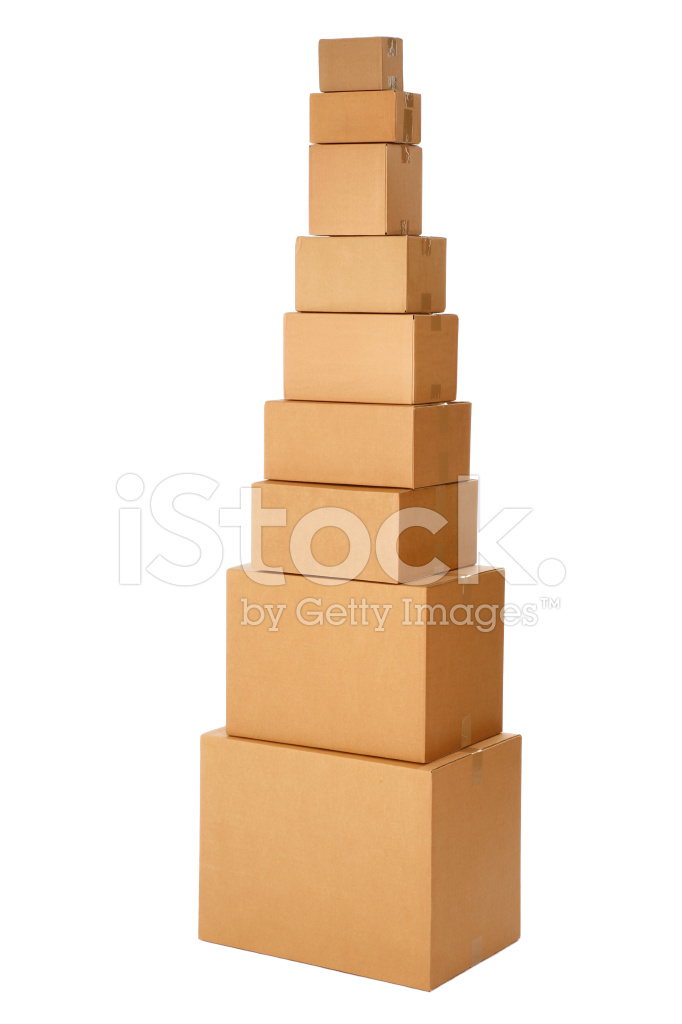 Pile With Nine Boxes Stock Photos Freeimages Com