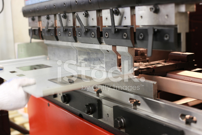 Sheet Metal Bending Machine Stock Photos - FreeImages com