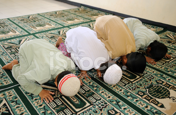 Muslim Kids Praying Stock Photos FreeImagescom