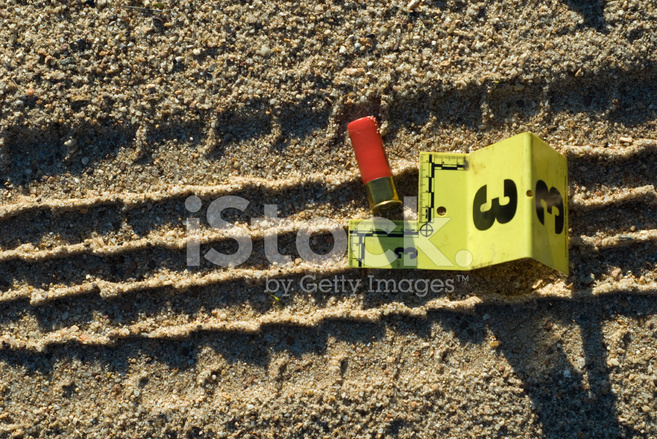 Tire Track and Evidence Stock Photos