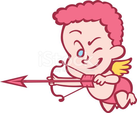 Cupid Erschossen Stock Vector Freeimages Com