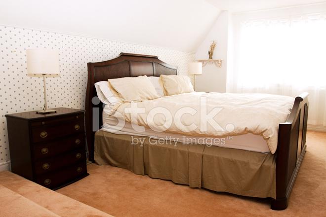 Camera da letto in stile vittoriano fotografie stock for Case fabbricate in stile vittoriano