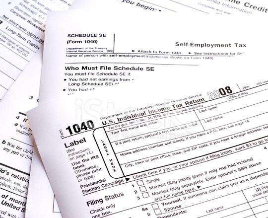 US Tax Forms stock photos - FreeImages.com