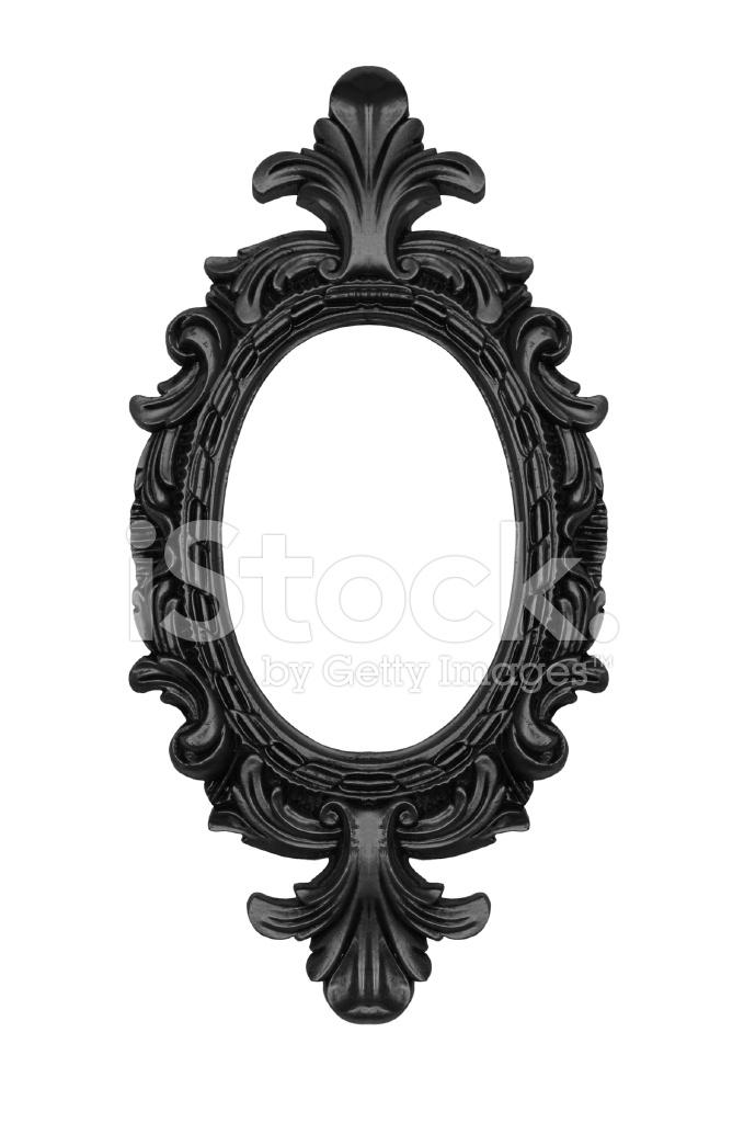 Black Ornate Oval Frame Stock Photos - FreeImages.com