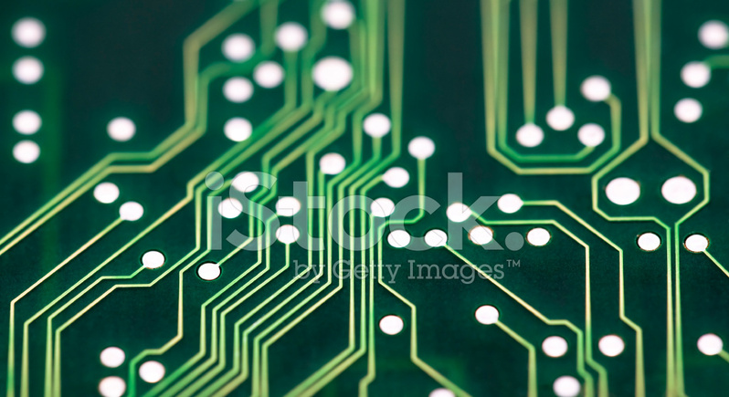 Circuit Board Connections Stock Photos - FreeImages.com