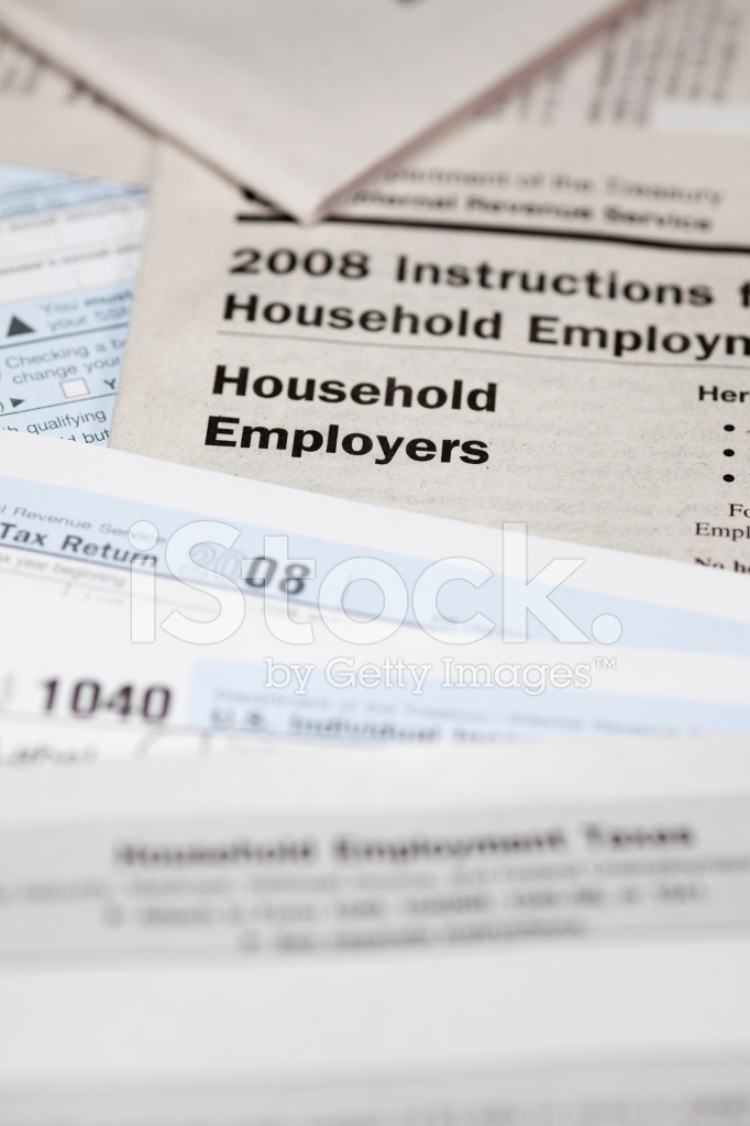 Us Tax Forms 1040 And Schedule H Stock Photos Freeimages
