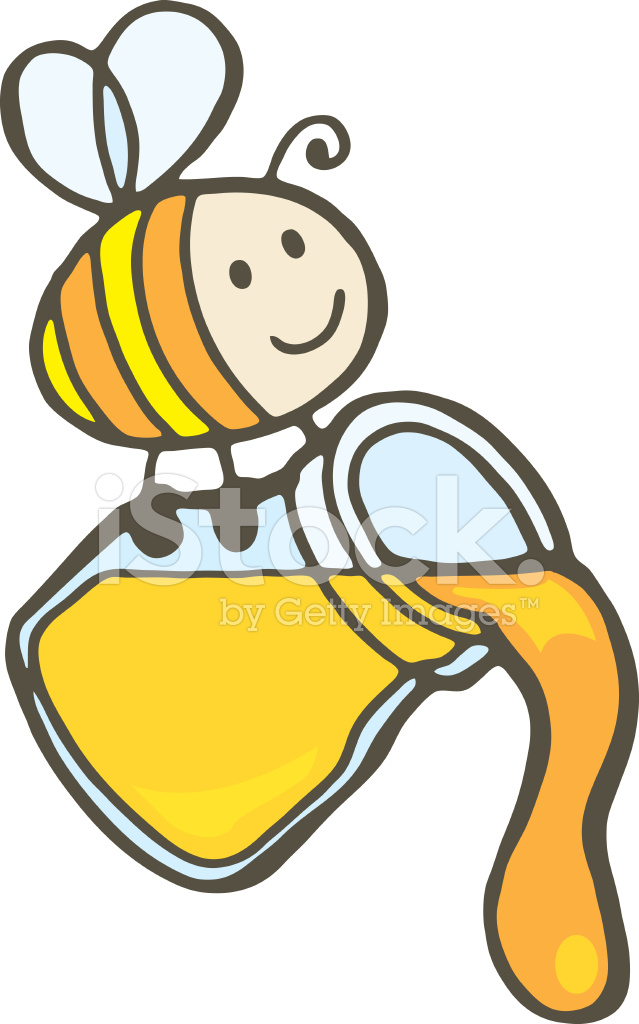 Lyric honey jars lyrics : Bee and Honey Jar Stock Vector - FreeImages.com