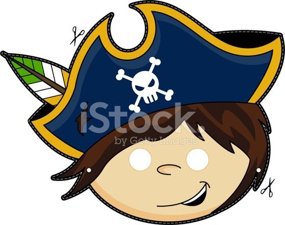 Mascara De Pirata Para Ninos Stock Vector Freeimages Com