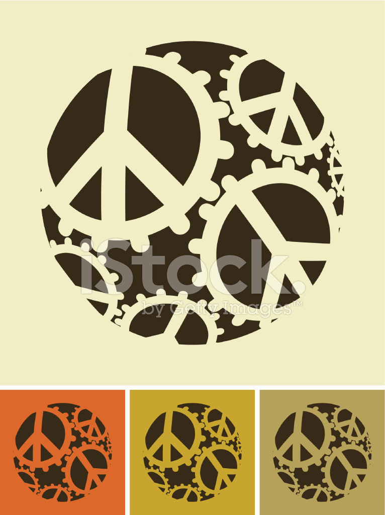 World Peace Machine Stock Vector Freeimages