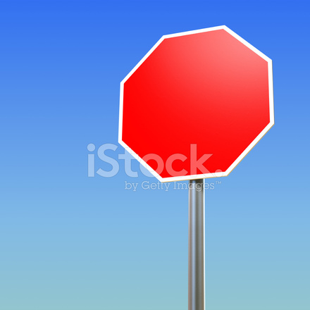 Blank Stop Sign Stock Photos - FreeImages com