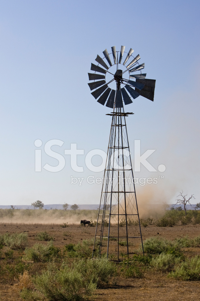 african wind powered water pump stock photos freeimages com