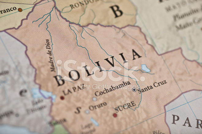 Sucre Bolivia Map Stock Photos FreeImagescom