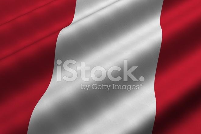 Bandera Peruana Fotografias De Stock Freeimages Com