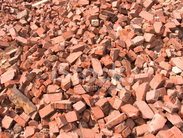 Pile Of Bricks Stock Photos