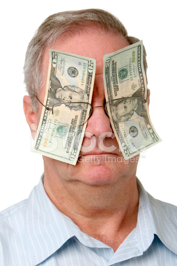 лишь, что картинки с долларами в глазах поразило- мюнстер