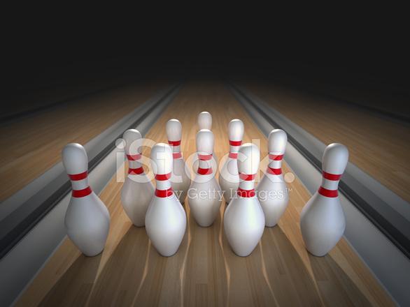 Bowling Pins Stock Photos - FreeImages com
