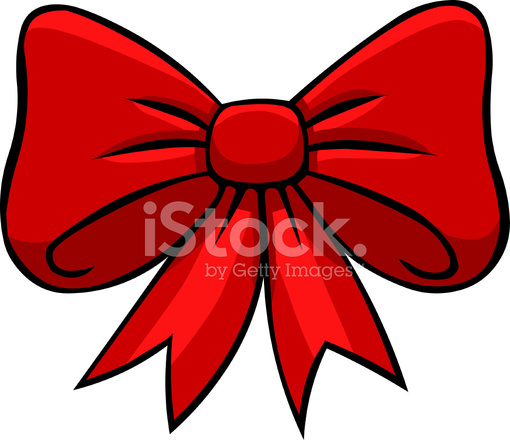 Cartoon Ribbon Bow Stock Vector - FreeImages.com