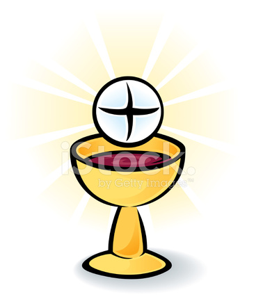 holy communion bread and wine stock vector freeimages com first holy communion symbols clip art first holy communion clip art free