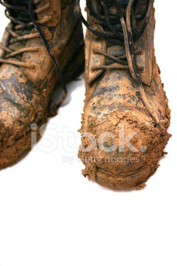 Boots With Mud On Stock Photos Freeimages Com