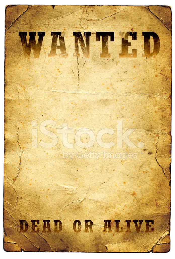 Premium Stock Photo Of Wanted Dead OR Alive Poster Wild West  Old Fashioned Wanted Poster