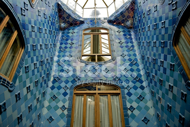 gaudi house interior - photo #4