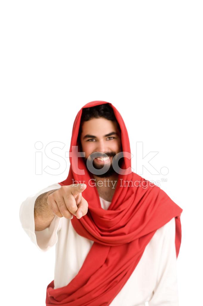 Jesus Pointing Stock Photos FreeImagescom