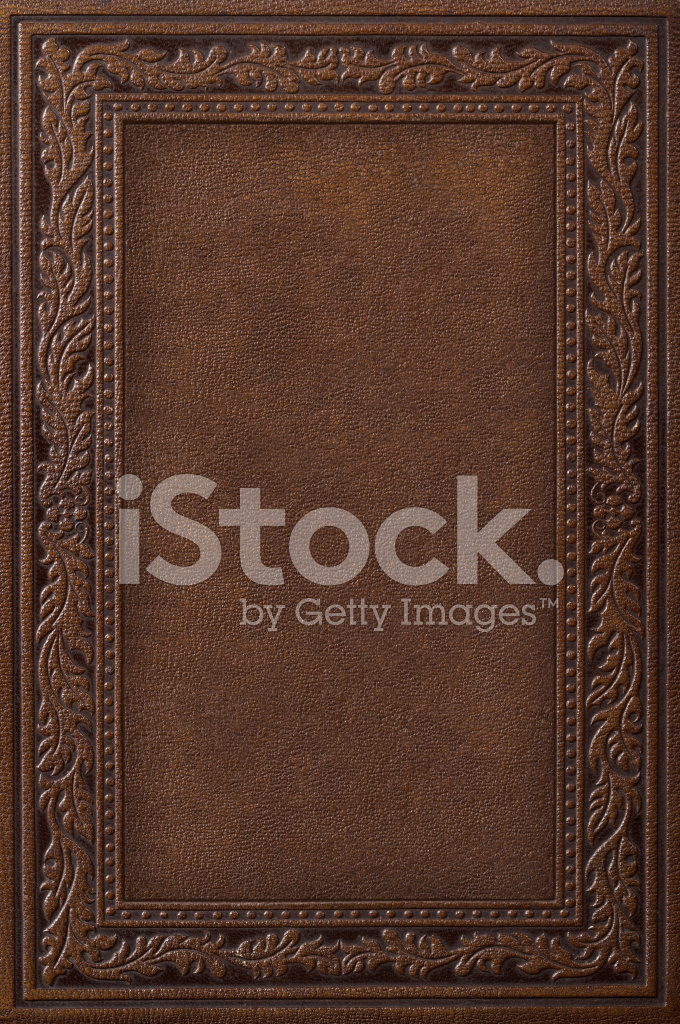 Cookbook Covers Images : Antique leather book cover stock photos freeimages