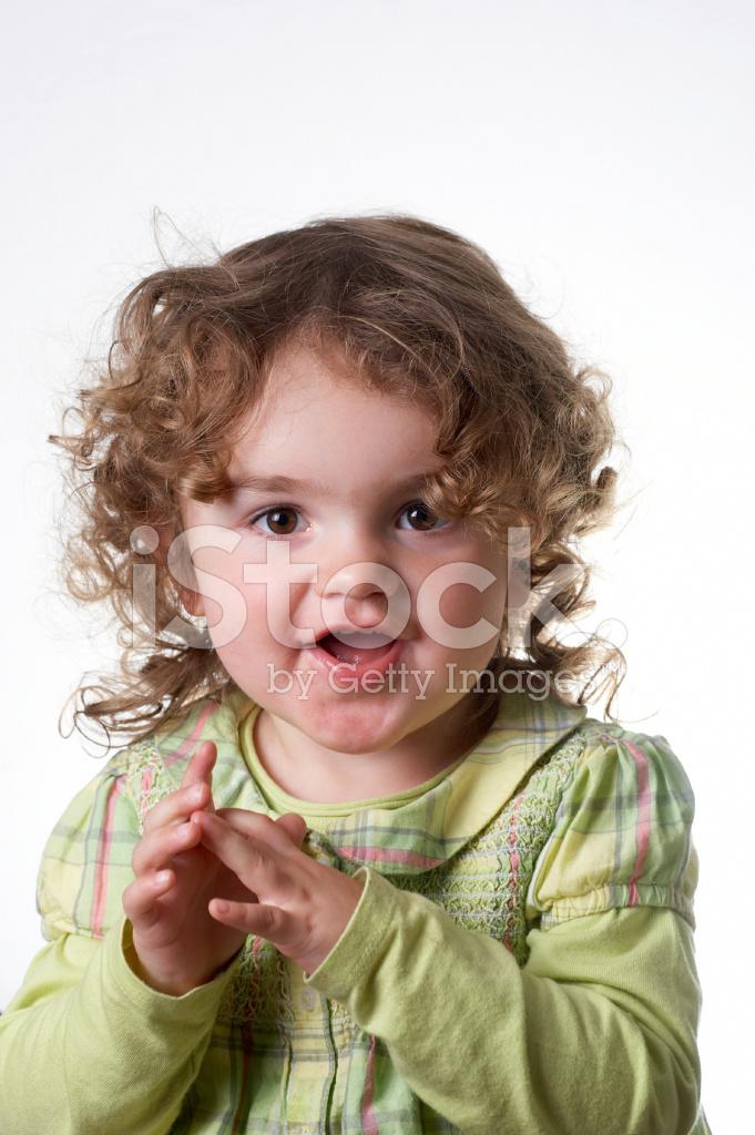 Zwei Jahre Altes Mädchen Portrait Stockfotos - FreeImages.com
